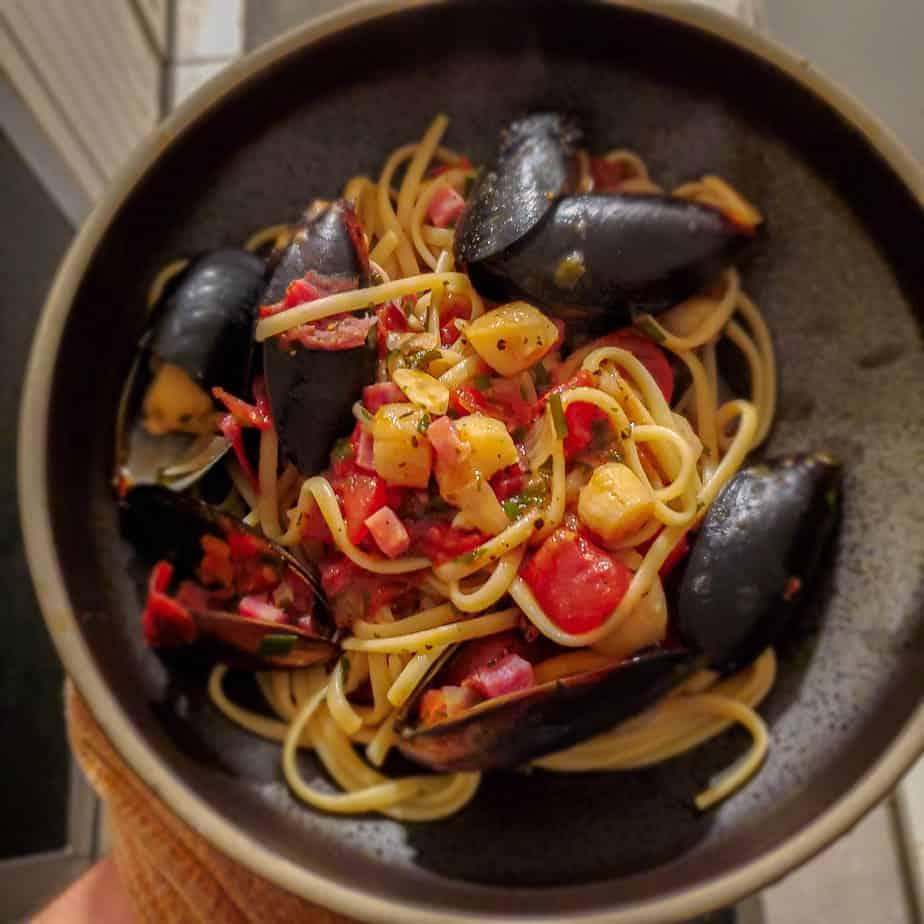 Seafood Pomodoro